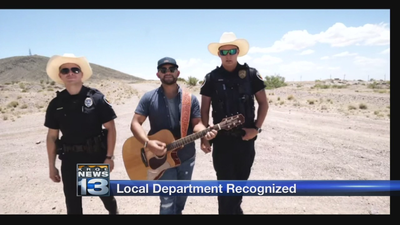 Las Cruces PD's lip sync video draws national attention