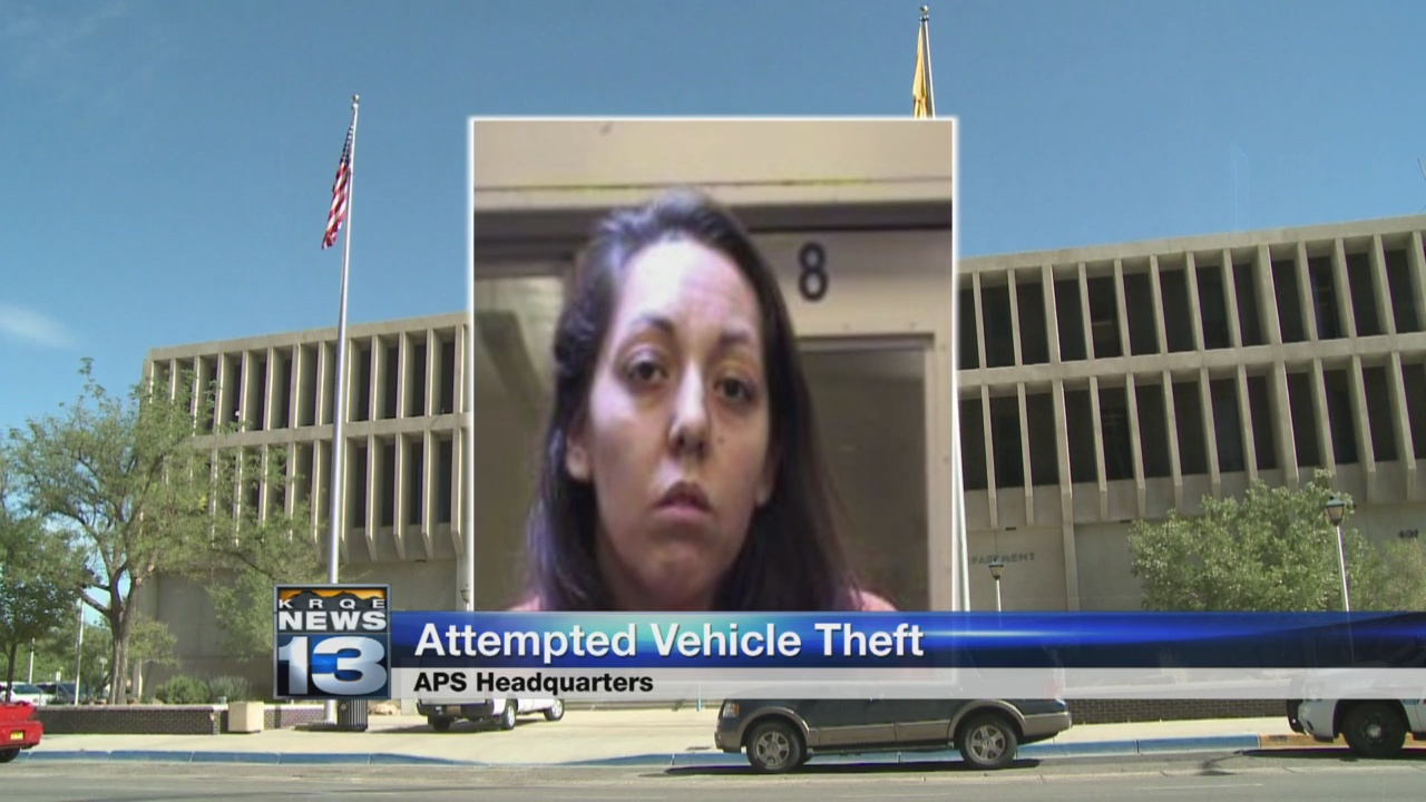 Woman busted while attempting to steal APS vehicle_1534722026806.jpg.jpg