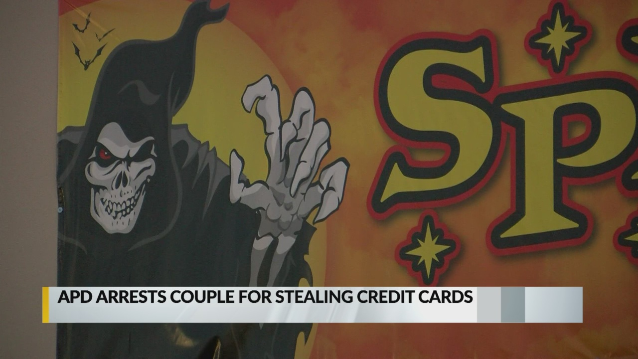 Couple arrested for Halloween shopping with stolen credit cards 2_1540613264554.jpg.jpg