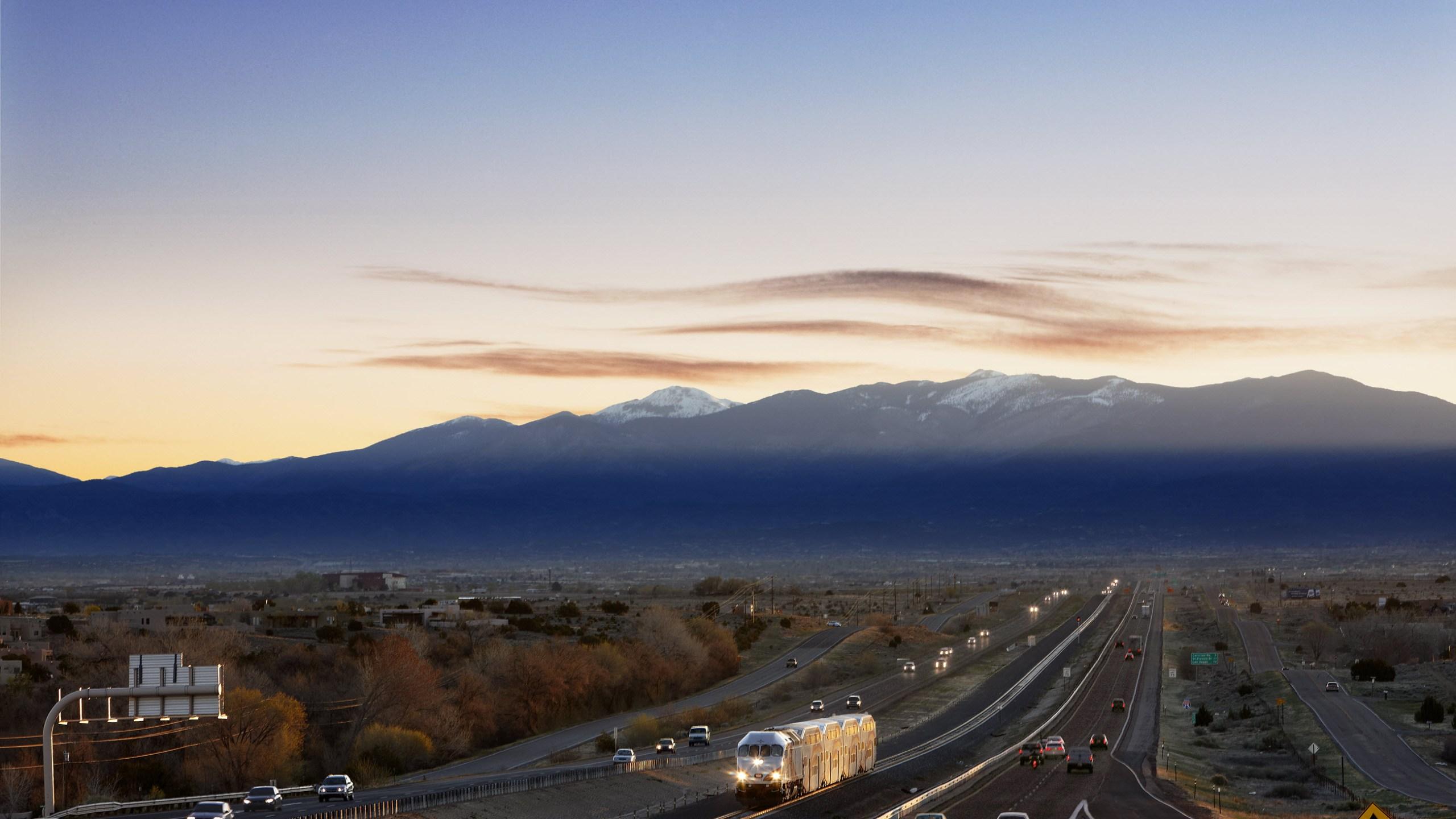 Albuquerque Railrunner stock img