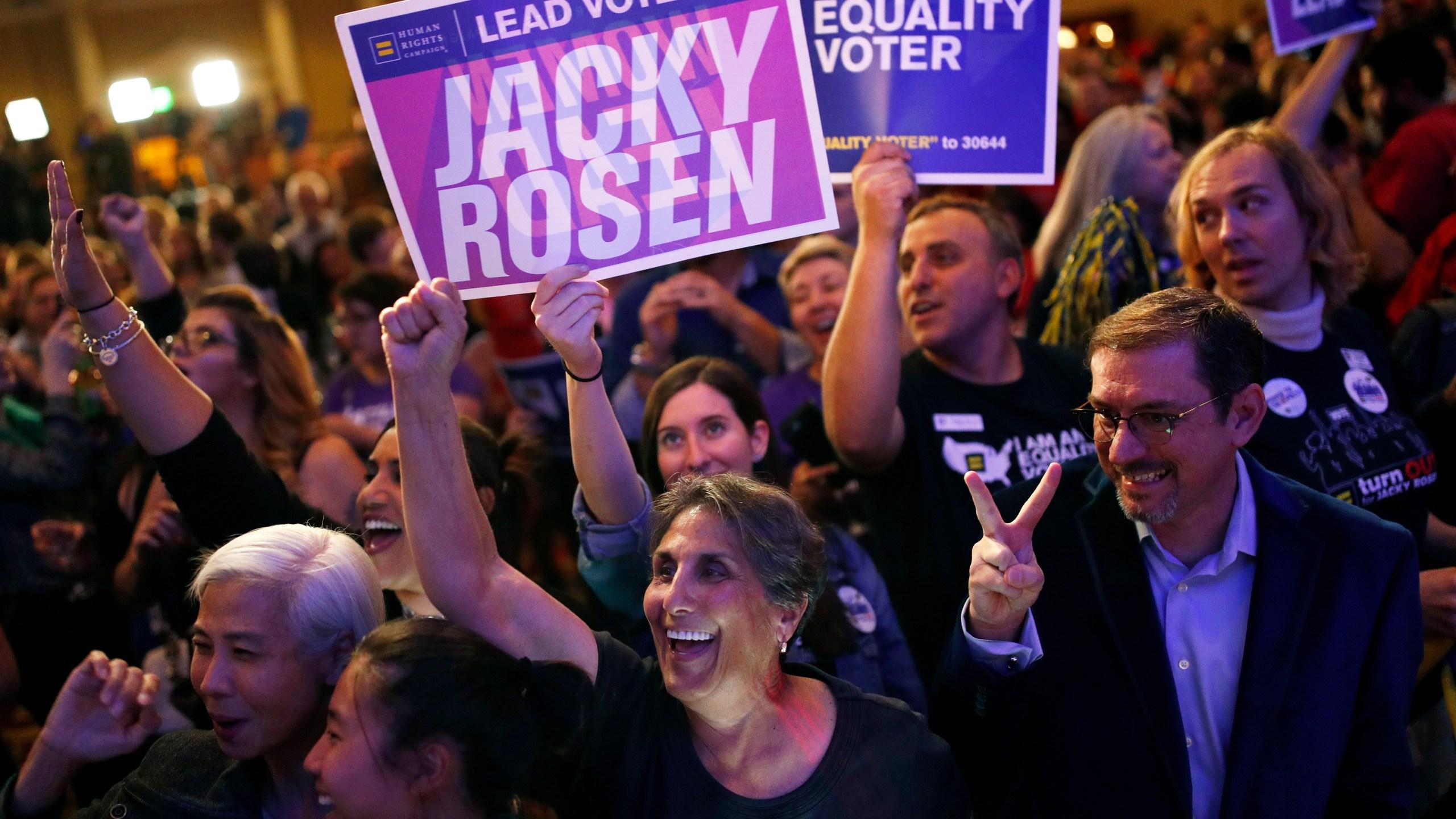 Election 2018 Senate Nevada Rosen_1541595026197