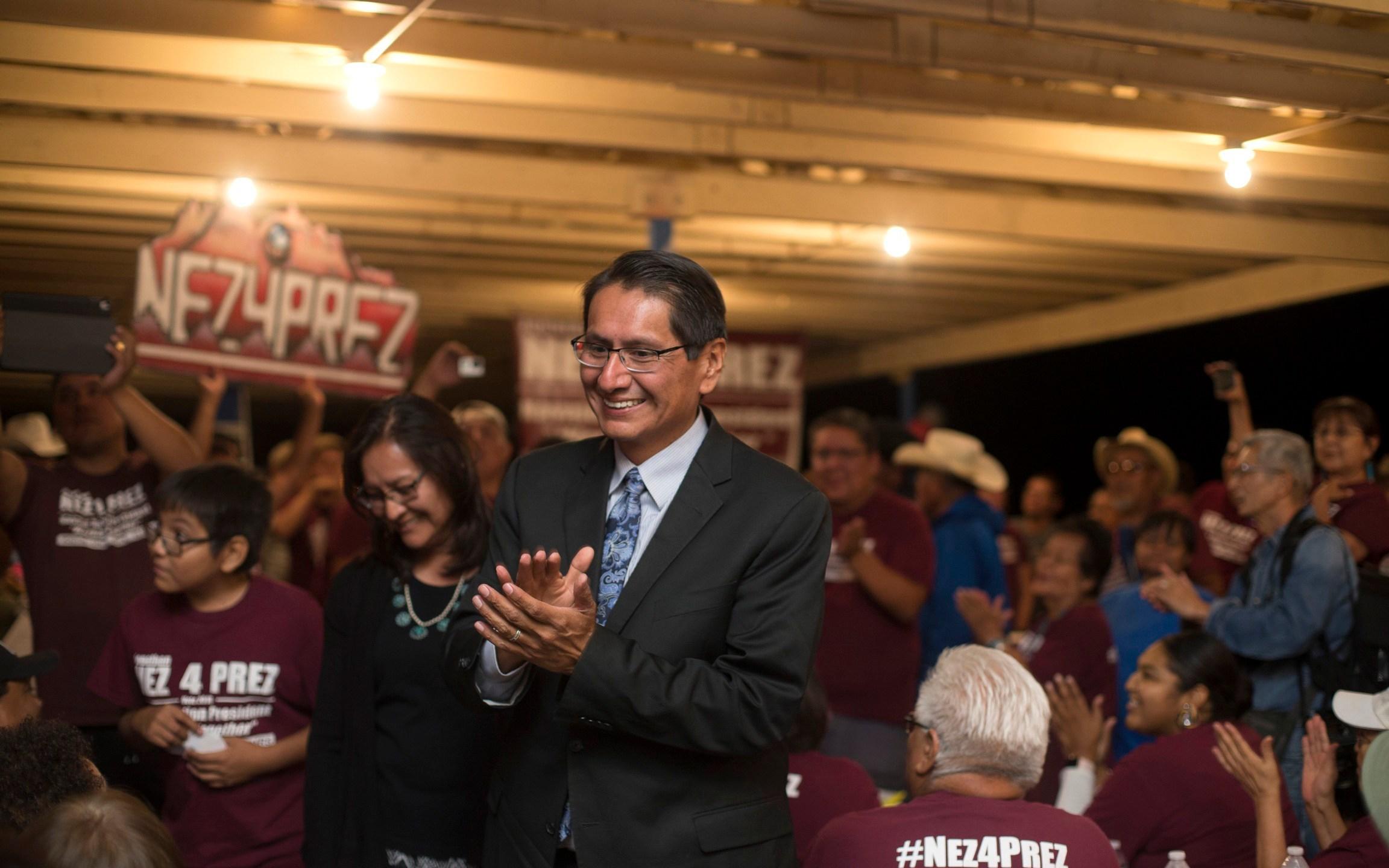 CORRECTION APTOPIX Navajo Presidential Race_1541604260179