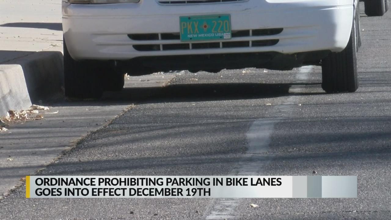 Citations begin Dec. 19 for Albuquerque drivers parking in bike lanes_1544051297261.jpg.jpg