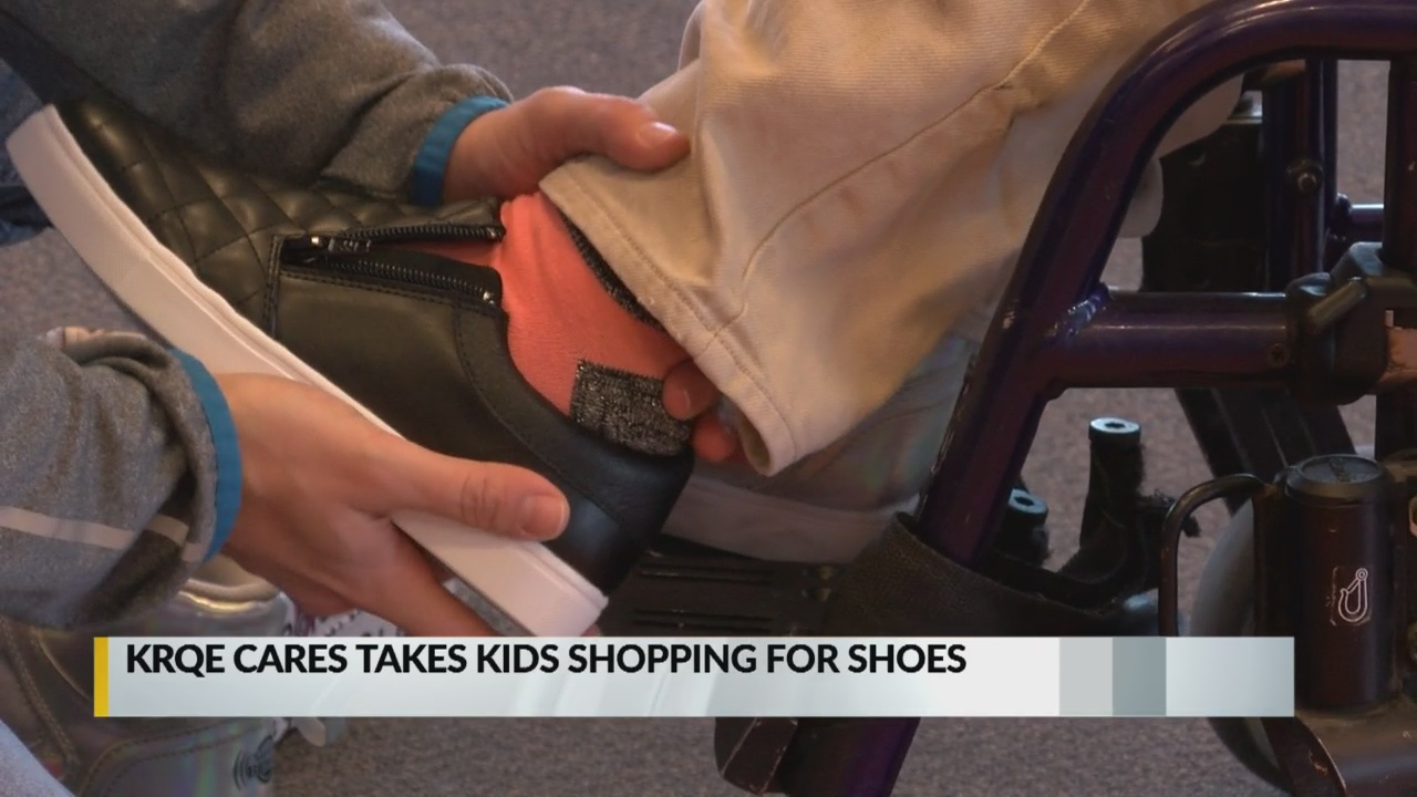 Donations help KRQE Cares provide shoes to local middle schoolers_1544829162565.jpg.jpg