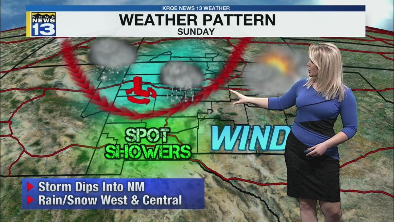 Kristen's Friday Morning Forecast
