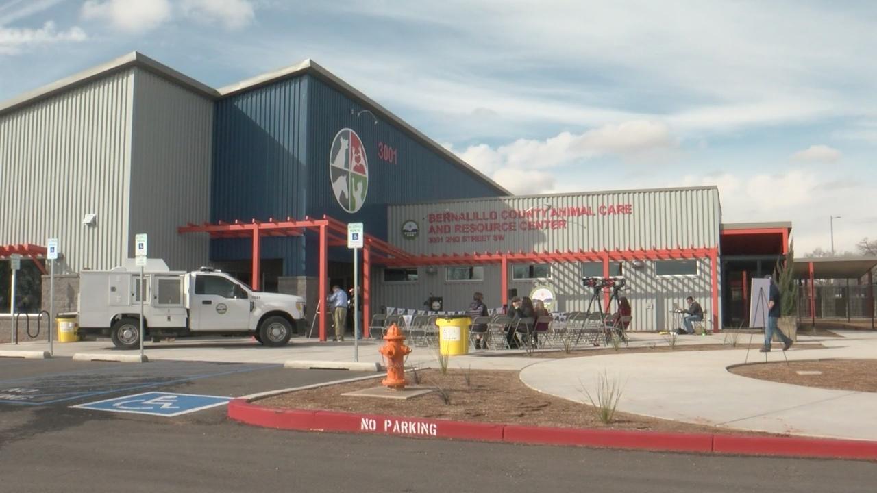 New animal care center opens in Bernalillo County