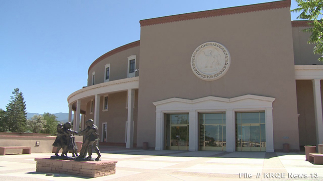 stockimg NM State Capitol Building; Roundhouse_1520204012134