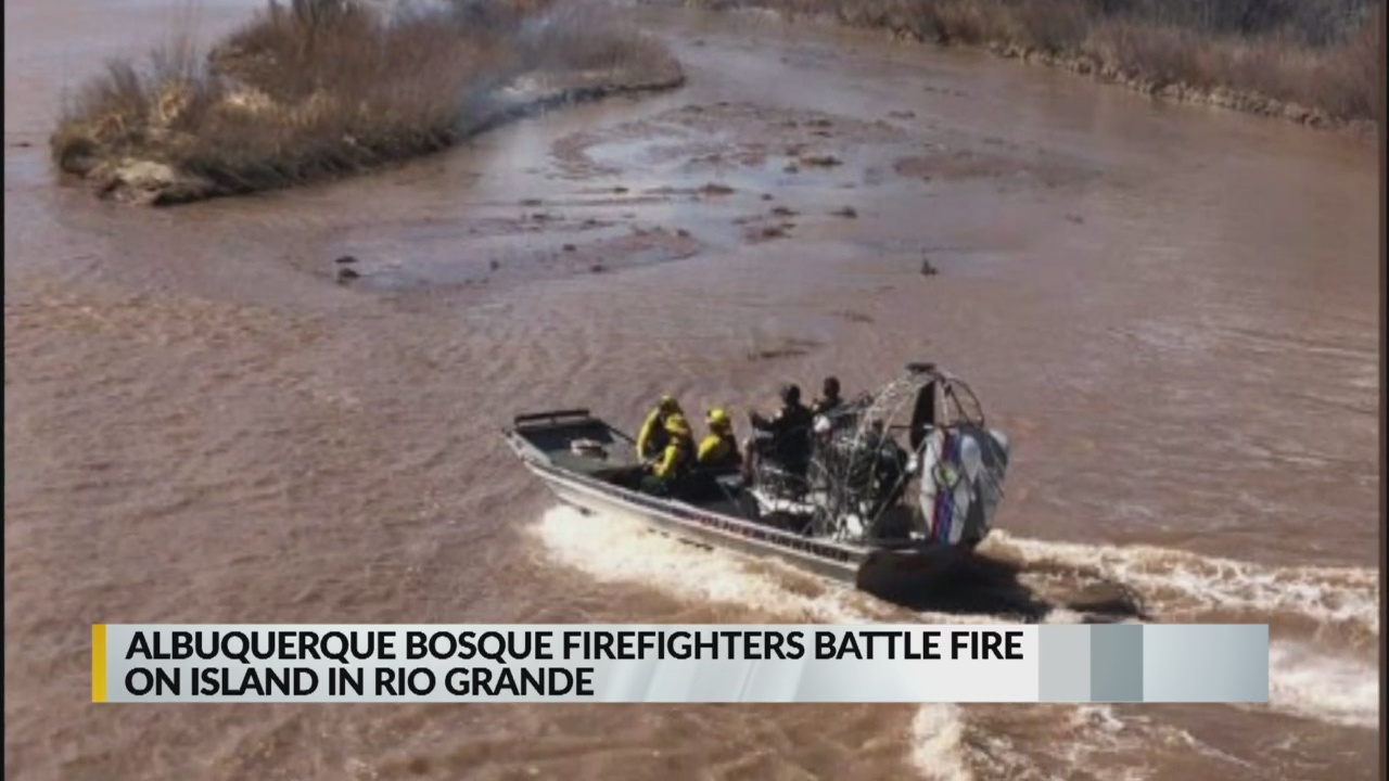 Firefighters extinguish fire on island in the Rio Grande_1553552047113.jpg.jpg