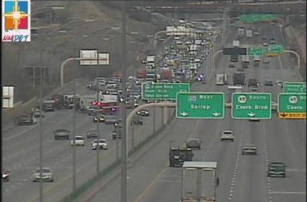 All lanes open on eastbound I-40 at Rio Grande following crash