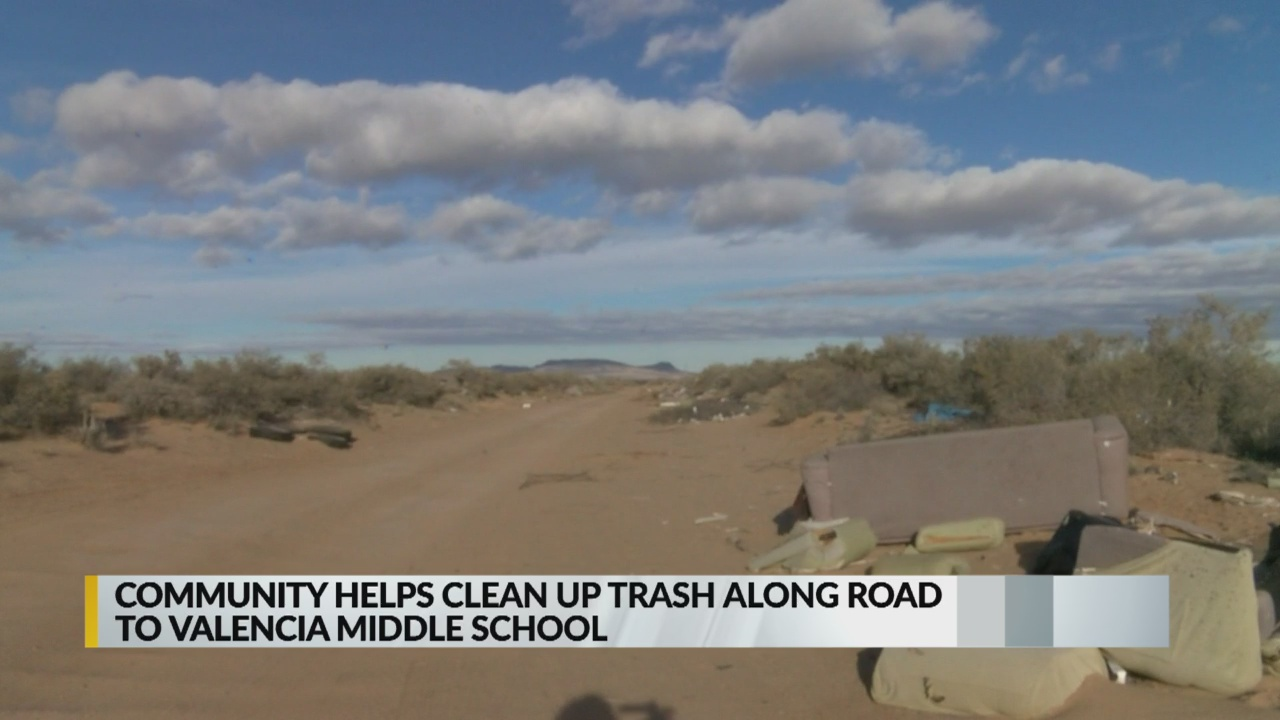 Littered road leading to New Mexico school finally cleaned up_1553553952679.jpg.jpg