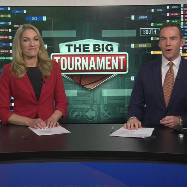 WATCH: 'The Big Tournament Live' previews Saturday's Elite 8 matchups
