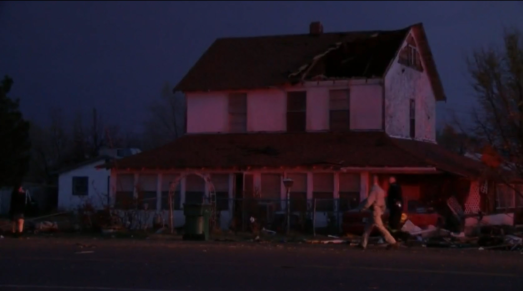 Severe storms, tornadoes cause major damage in southeast New Mexico town