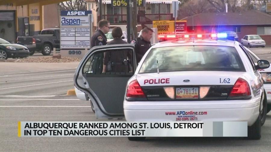 ABQ most dangerous cities