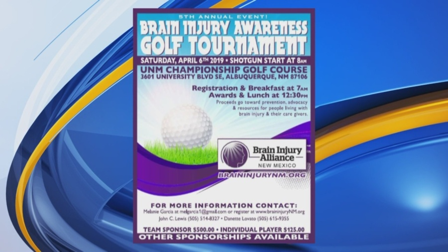 Brain Injury Alliance of New Mexico to Host Annual Golf Tournament Fundraiser