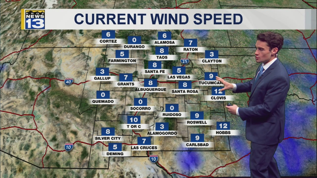 Harsh weather slams eastern New Mexico