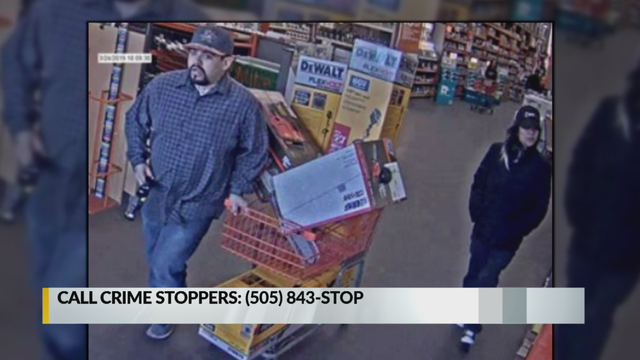 Couple wanted for stealing cart full of tools from Home Depot_1555021957861.jpg.jpg
