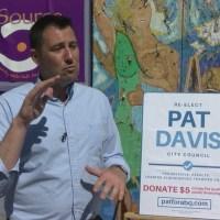 Albuquerque Tea Party handing out flyers bashing councilman