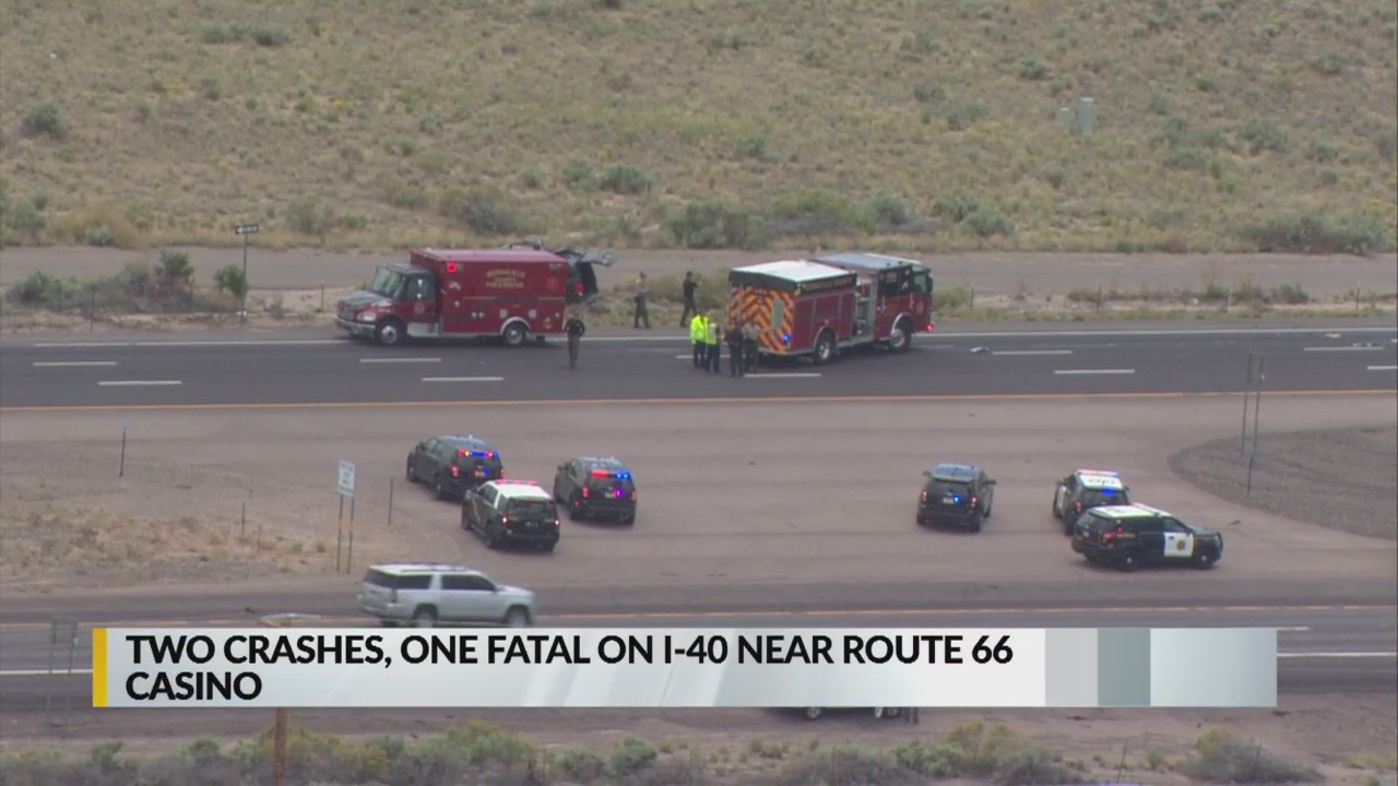 Fatal crash shuts down eastbound I-40 near Route 66 Casino_1558650106305.jpg.jpg