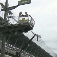 IMS from vantage point of official flagman