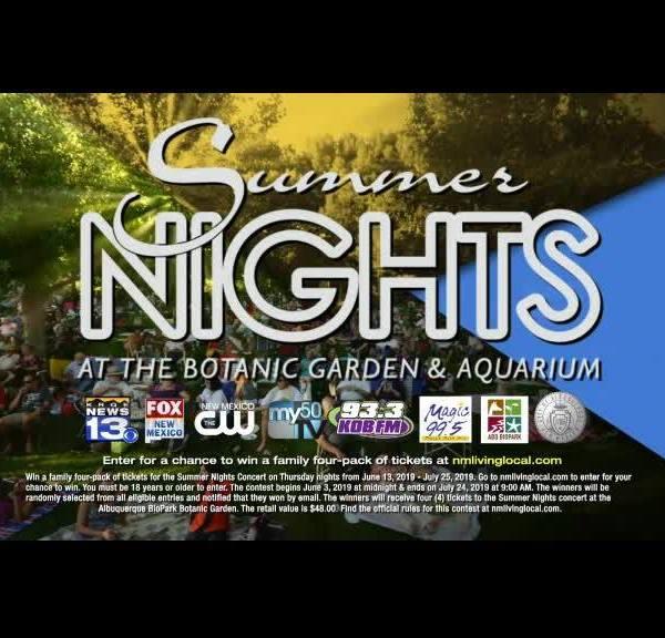 ABQ BioPark Summer Nights Concert Series