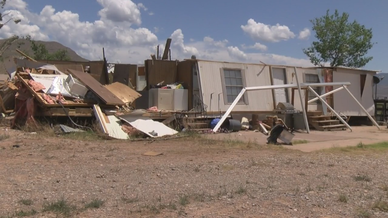 Alamogordo Picking Up The Pieces After Surprise Tornado