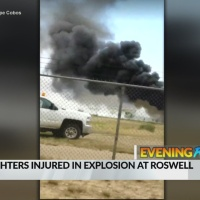 June 5 Evening Rush: 12 firefighters injured in explosion at Roswell airport