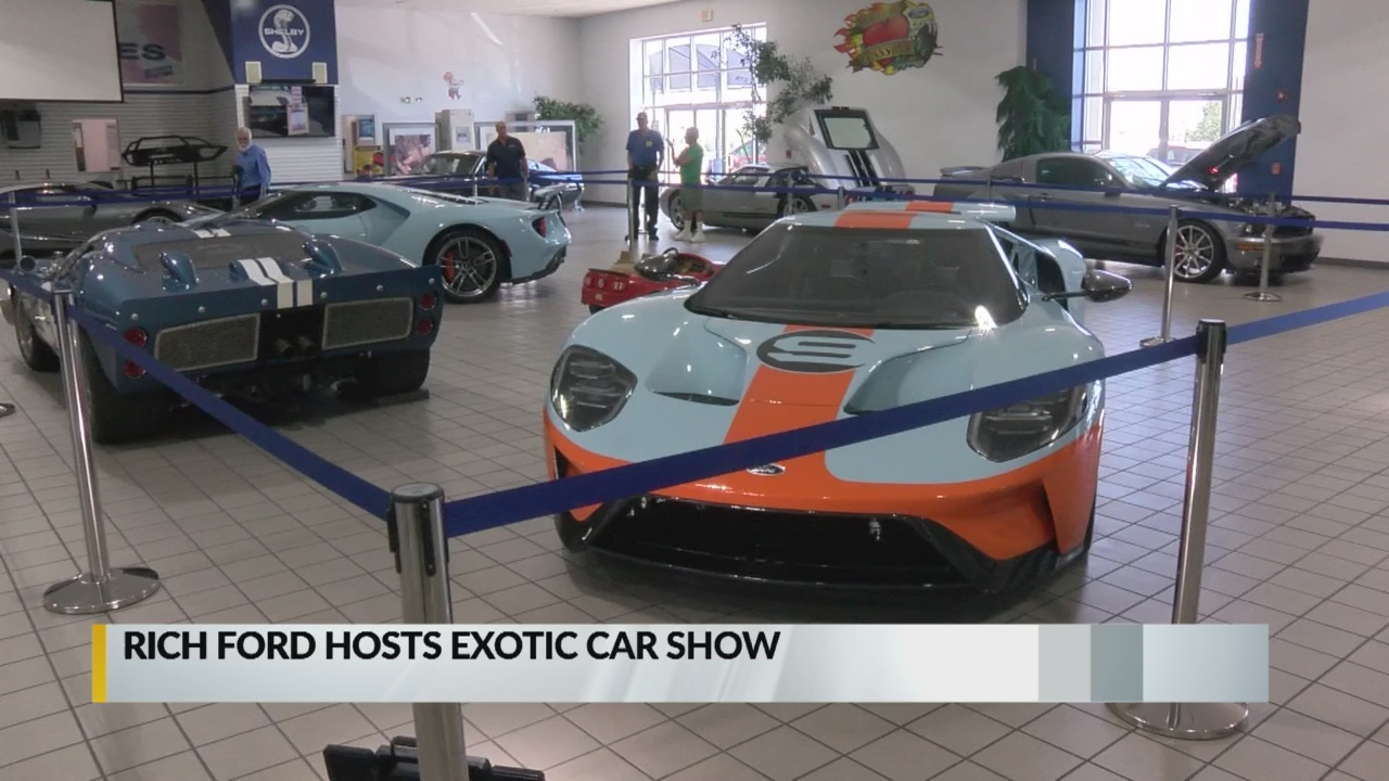 Rich Ford Albuquerque Nm >> Rich Ford hosting exotic car show, Friday-Saturday   KRQE ...
