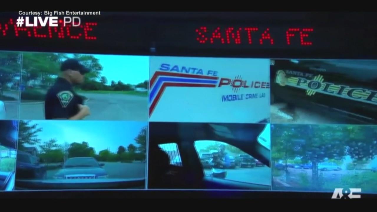 Santa Fe Police makes debut on Live PD