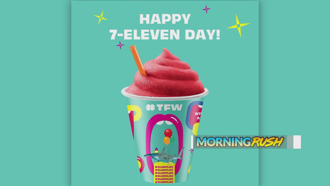 7 Eleven Offers Free Slurpees During 7 Eleven Day Krqe News 13