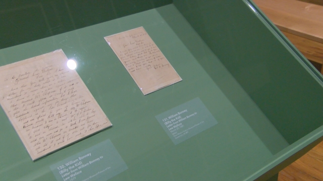 Albuquerque Museum exhibit gives inside look at rare artifacts including 'Billy the Kid' letters