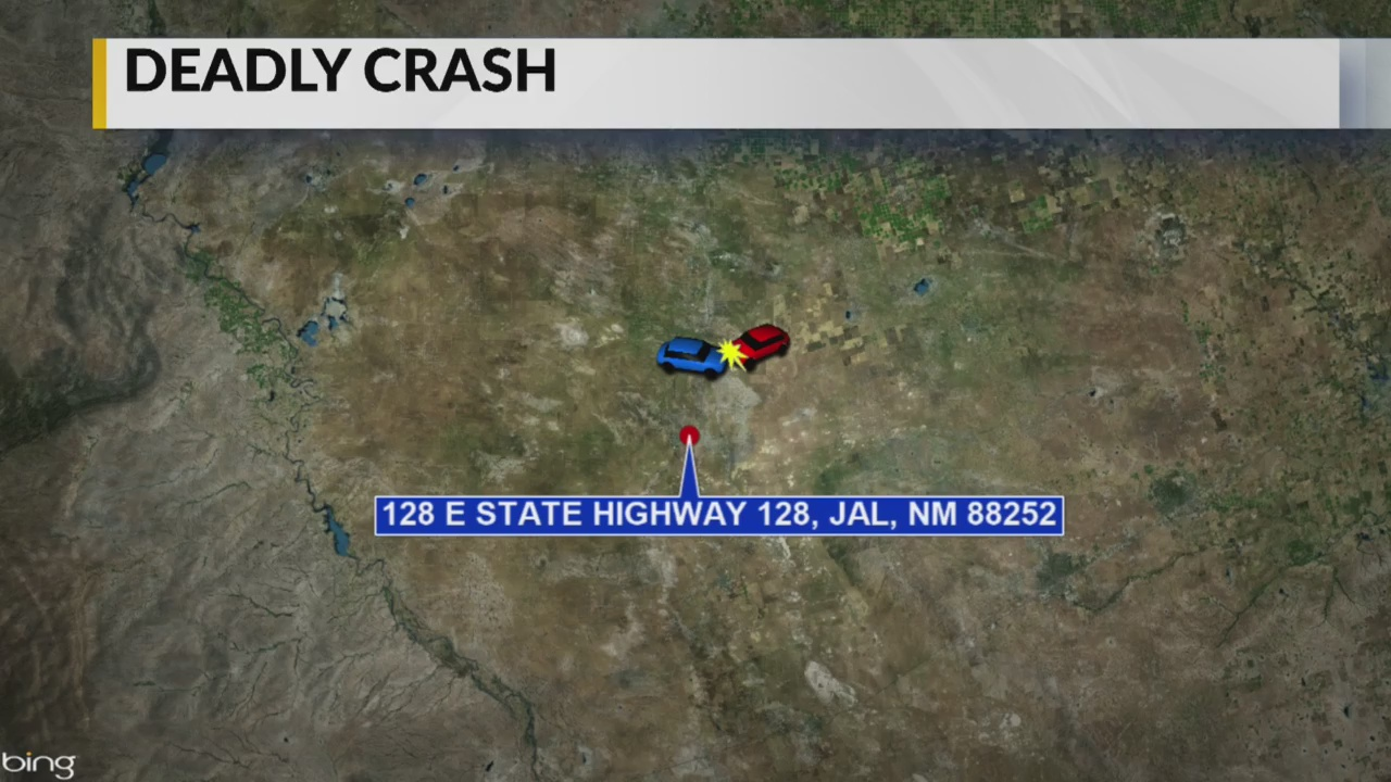 NMSP identify 5 victims killed in vehicle collision near Jal   KRQE
