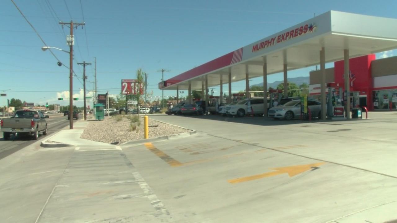 Cheap Gas Albuquerque >> Abundance Of Gas Stations At Busy Albuquerque Intersection