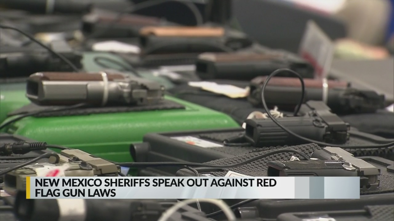 New Mexico Sheriffs Speak Out Against Red Flag Gun Laws