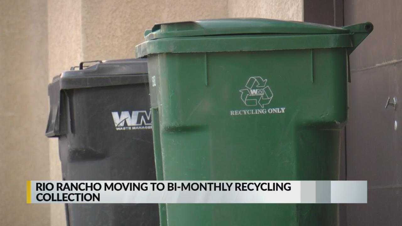 Roswell Recycling Center >> Rio Rancho announces changes to recycling pick-up schedule ...
