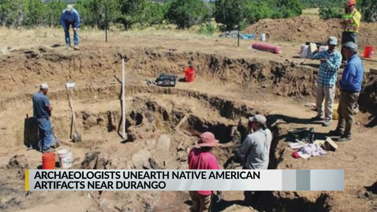 Road project near Durango uncovers Native American artifacts