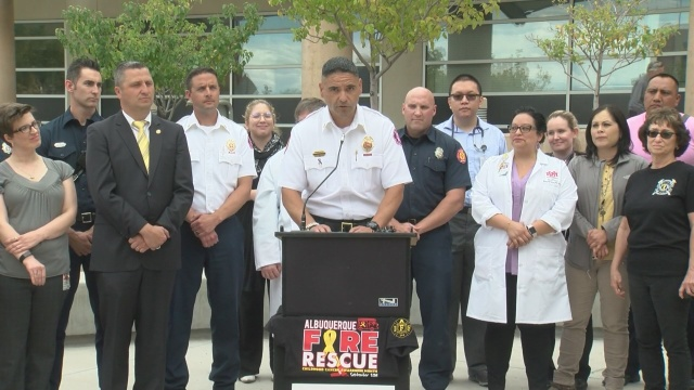 Local firefighters donate $7,000 to help fight childhood cancer