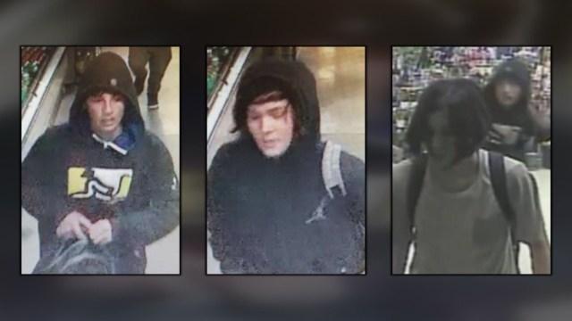 Men wanted for break-ins at Albuquerque Walmart, Albertsons