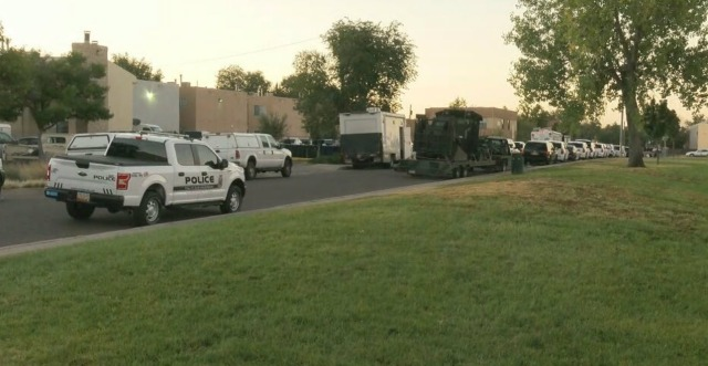Armed man fatally shot by APD SWAT officers in northeast Albuquerque