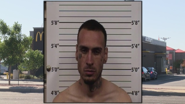 Albuquerque man accused of breaking into McDonald's with hammer, terrorizing workers