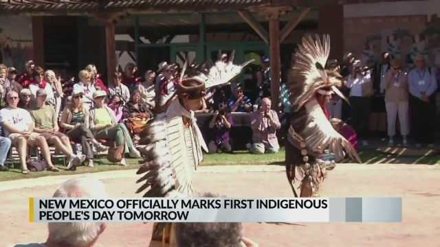 Indigenous People's Day officially celebrated in New Mexico