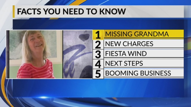 October 9 Morning Rush: New Mexico woman missing for nearly 5 months