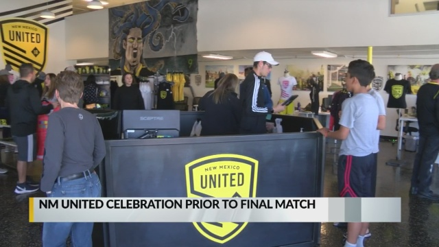 NM United hold event for fans