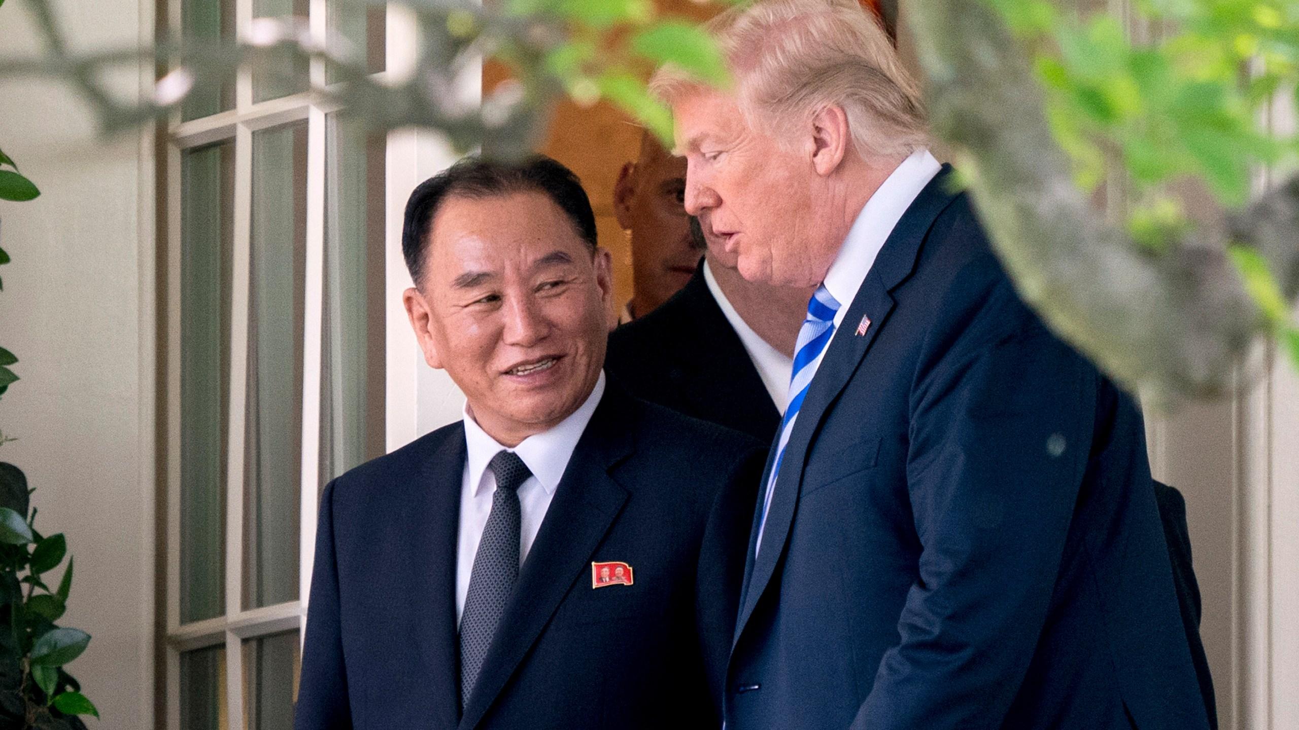 Donald Trump, Kim Yong Chol