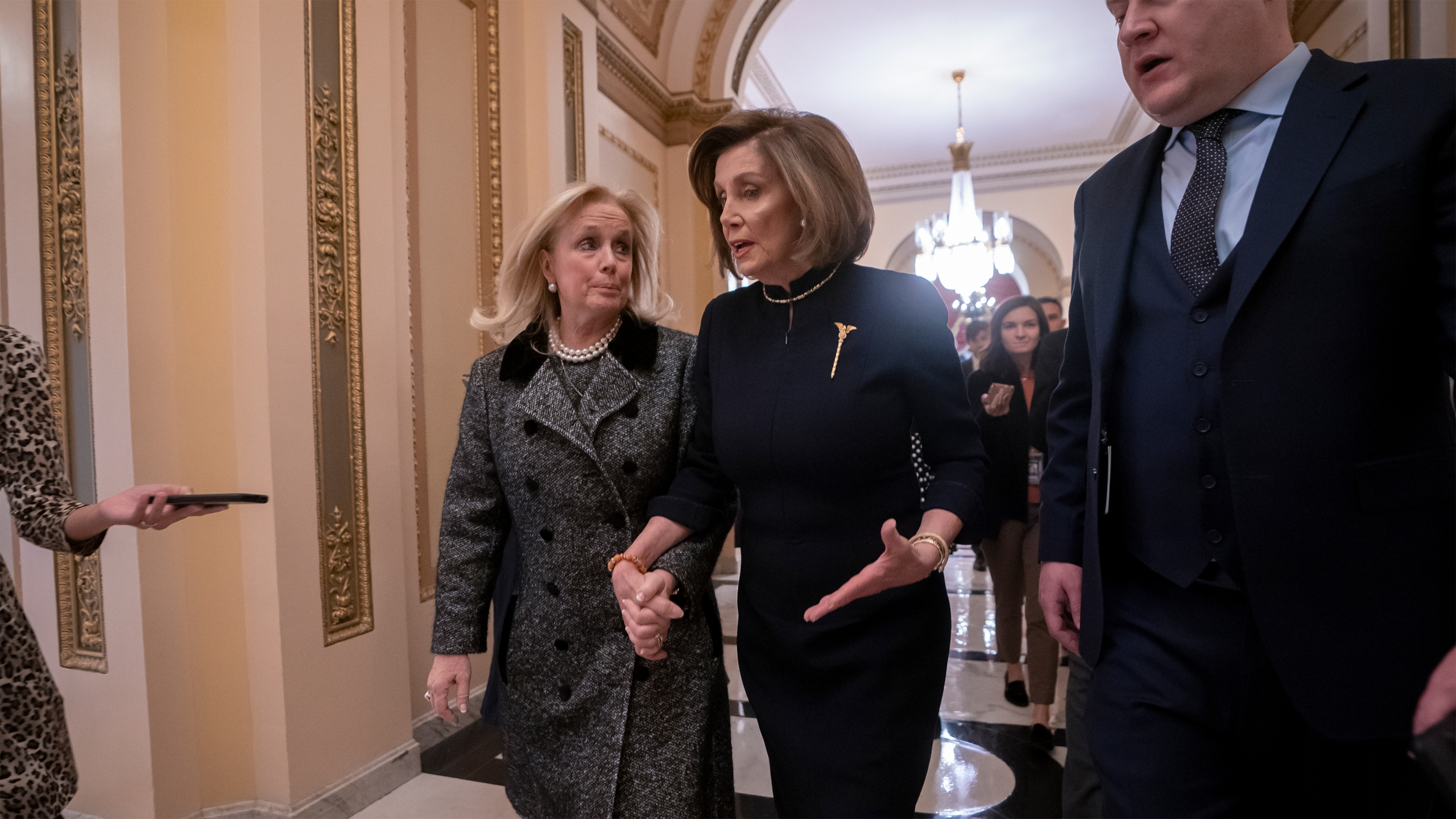 Nancy Pelosi, Debbie Dingell