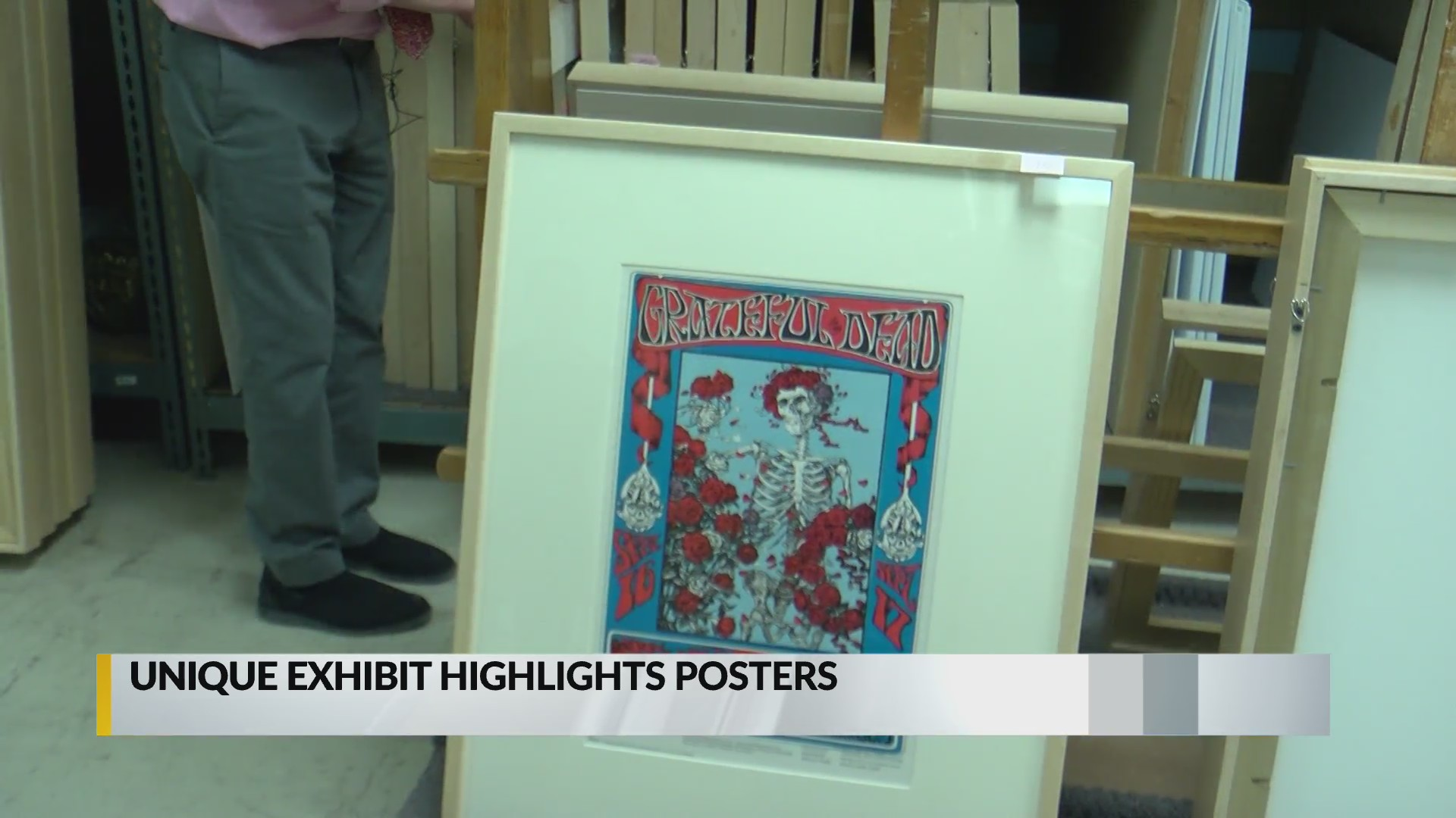 Albuquerque Museum Exhibit Will Chronicle The Early Days Of The Psychedelic Rock Poster Krqe News 13