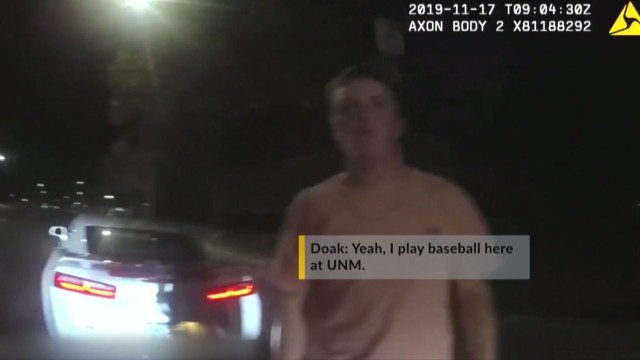 Friends ask police to not arrest UNM baseball player for DWI