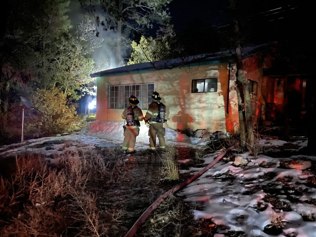 East Mountain house fire displaces family
