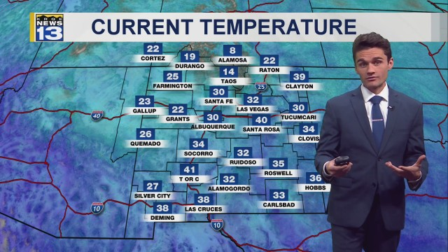 Connor's Saturday Morning Forecast