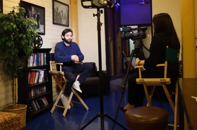 Actor Penn Badgley, star of Netflix drama 'YOU', shares views on faith, friendship and film in Albuquerque