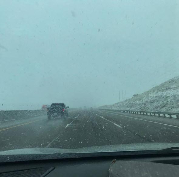 PHOTOS: Snow Falls Throughout New Mexico Thursday